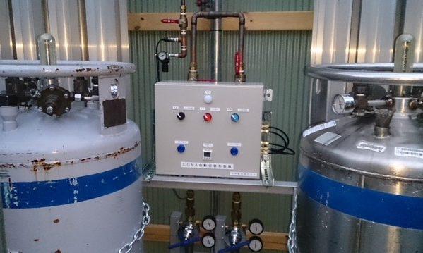 画像: ガス供給設備自動切替制御1